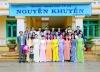 Vinh dự trường được mang tên nhà thơ Nguyễn Khuyến